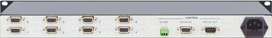 8 Port RS-422 Matrix Switcher