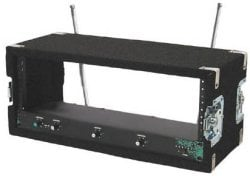 6-Space Wireless Rack with Recessed Hardware