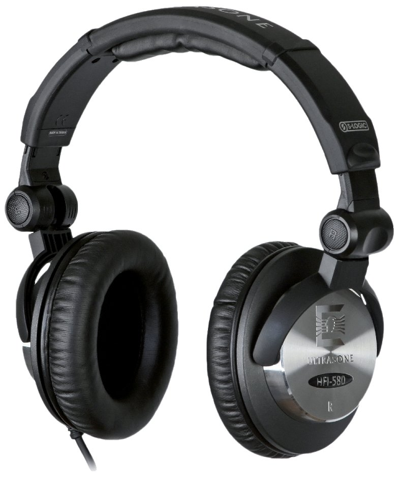 Studio Headphones, Black