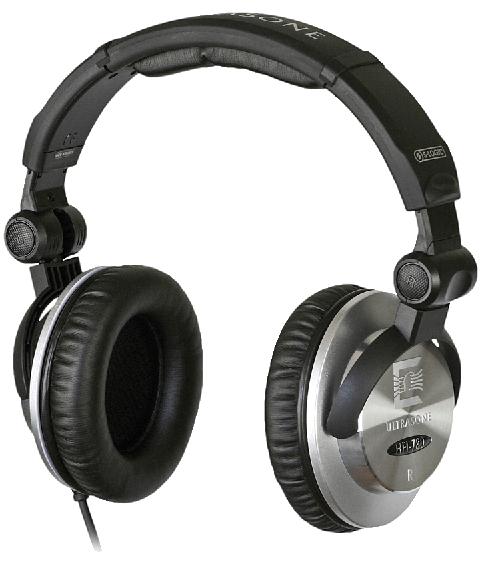 Black Closed Back Studio Headphones
