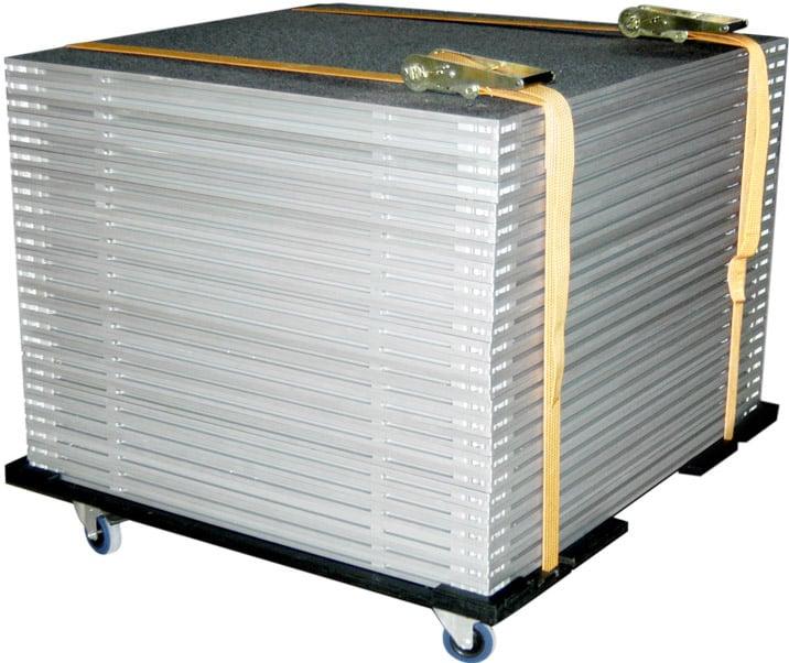 Caster Board (for 4' x 4' Platforms)