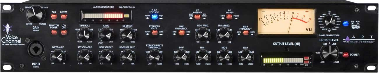 Mic Preamp Channel Strip, with Digital Outs