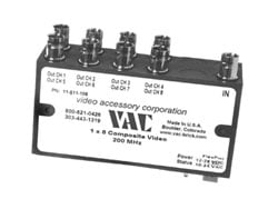 Composite Video Distribution Amp