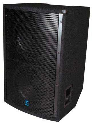 "Elite Series Dual 18"" Subwoofer,1400 Watts @ 4 Ohms, Black Ozite Carpet Finish"