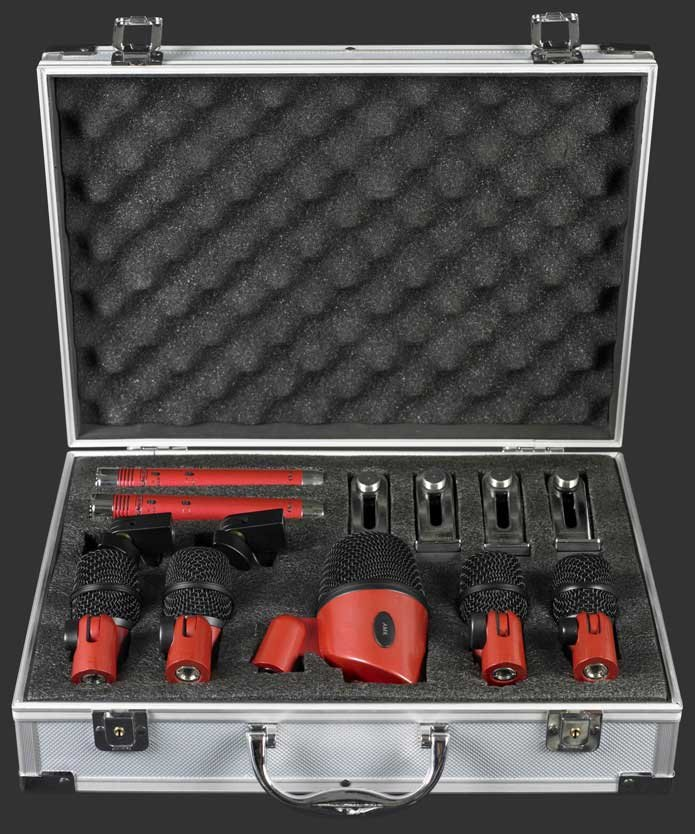 Drum Microphone Kit, 7 Mics