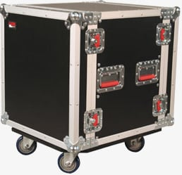 14RU Tour-Style Rack Case (with 4 Casters)