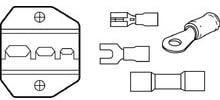 Die Set, Insulated Terminals, for Crimpmaster Crimp Tool Frame 30-506