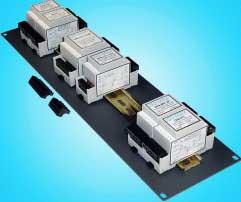 DIN Rail 2-Channel Line Input Module (10k to 10k, 1:1)