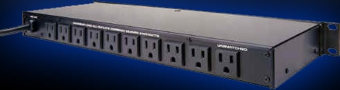 Power Distribution Center with 11 Outlets & 20 Amp Capacity