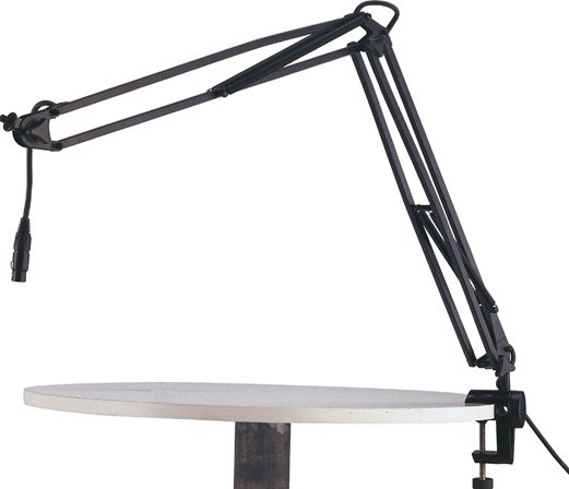"Studio/Desk Boom Arm, 18.11"" + 19.69"", Black"
