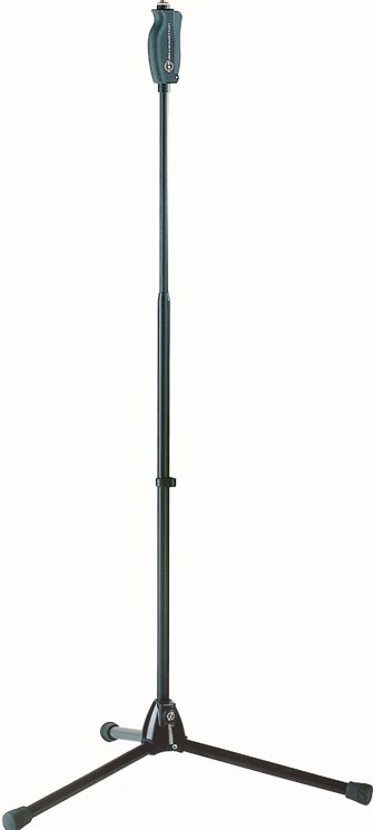 "43""-71"" Microphone Stand with One-Hand Clutch Trigger"