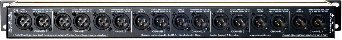 Mic Splitter, Eight Channel