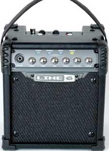 Battery Powered Portable 6W Guitar Amplifier