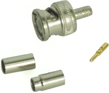 BNC Connector for RG-58 Coaxial Cable