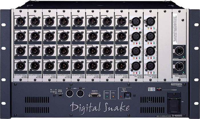 Digital Snake Stage Modular Rack 8 x 32