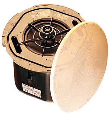 "Ceiling Speaker, 6.5"" w/Tile Bridge, priced as each - sold only in pairs"