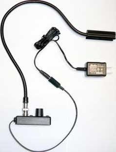"18"" High-Intensity BNC Detachable Gooseneck Lamp (L4-Series, without Transformer)"