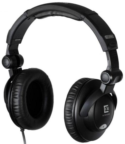 Headphone w/Case, Black