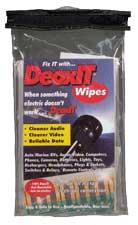 Caig Labs K-D1W-50  DeoxIT Wipes, 100%, 50 count K-D1W-50