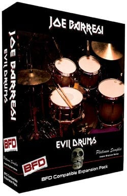 Software, Evil Drums for BFD