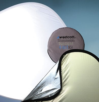 "Reflector Kit 4 in 1 30"" Sunlight and Silver"