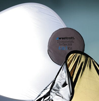 "Reflector Kit 4 in 1 52"" Gold/Silver"
