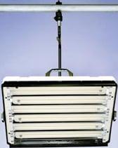 Lowel E-Studio6 Fluorescent Lighting Fixture (with Rotating Mount Plate)