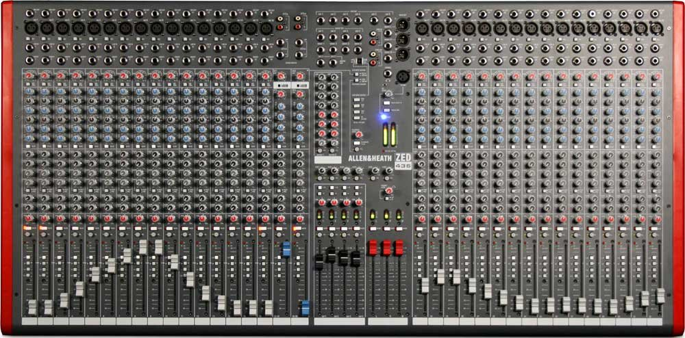 Mixing Console with USB Port, 32 Mic/Line Inputs, 2 Stereo Line Inputs, 4 Bus, SONAR LE Software