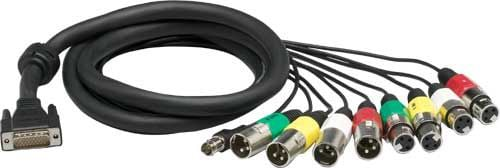 Lynx Studio Technology CBL-AES1604 6 ft. 26-Pin HD D-Sub (Male) Cable Snake (110 ohms) CBL-AES1604
