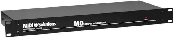 8-Input MIDI Merger (1 RU)