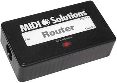 2-Output MIDI Message Router