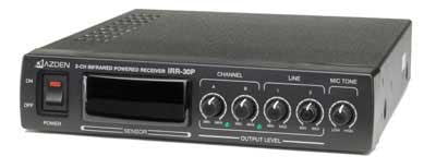Infrared Powered Receiver, Dual Channel, with Power Supply