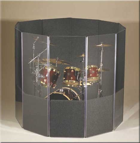 6 x 7 x 5.5 ft Drum Shield Kit