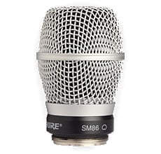 SM86 Cardioid Condenser Microphone Cartridge for Shure Wireless Handheld Transmitters