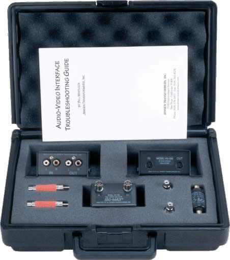 Jensen Transformers ISO-KIT Audio/Video Ground Isolator Kit ISO-KIT