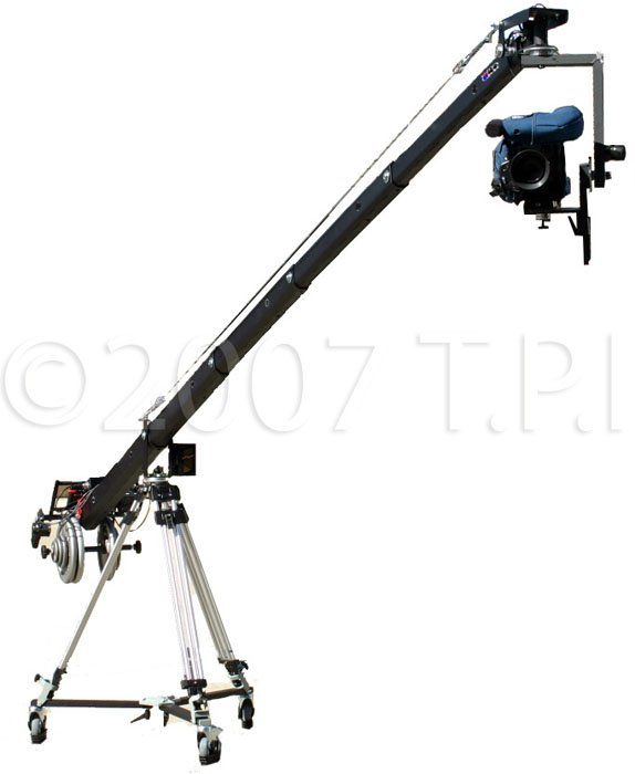9 ft Jib Arm Rear Control Center 100mm Hub