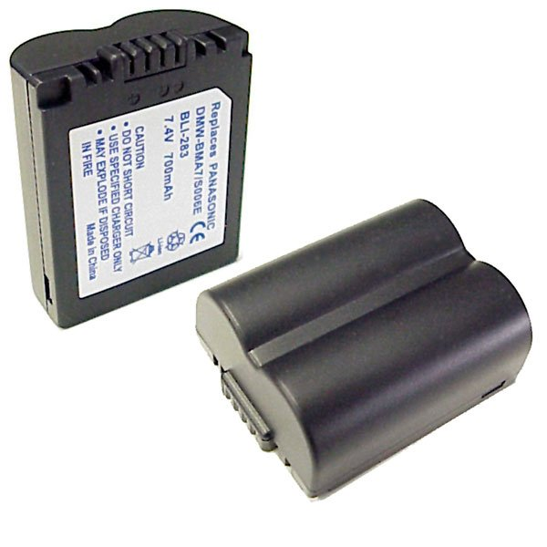 Battery for Panasonic DMWBMA7, LI-ION, 7.4V, 700mAh