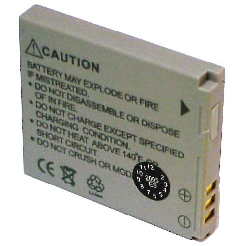 Battery for Canon NB4L, LI-ION, 3.7V, 760mAh