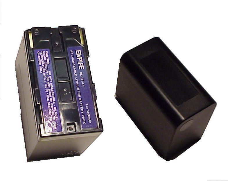 Battery for Canon BP941/945, LI-ION, 7.2V, 6600mAh