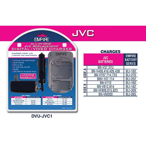 Universal Charger for JVC  Batteries