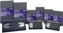 Betacam Tape - 30 Min. (SP)