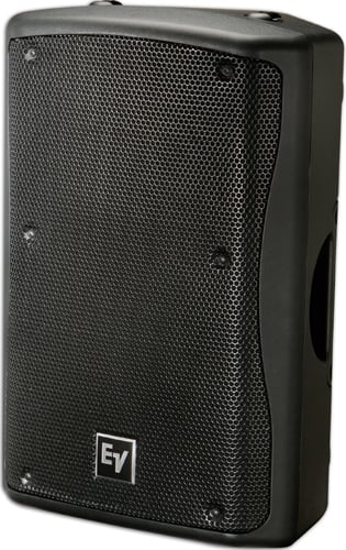 """12"""" 2-way Speaker, 600W Continuous, 60x60 Dispersion, Weatherized, Black"""