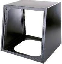 10-Space Steel Desktop Turret Frame (Fully Assembled, Black)