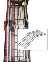 Middle Atlantic Products AXS-WT25 Cable Management Tray (for AX-SX & SSAX Series Tracks) AXS-WT25