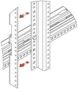 "44-Space Rear Rack ""Z-Rail"" Adaptor"
