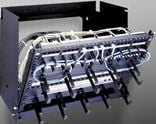 6-Space Pivoting Rack Panel Mount