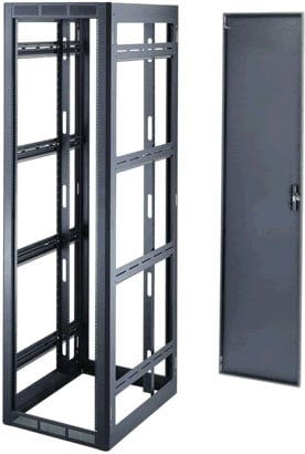 24-Space Gangable Rack Enclosure (Black)