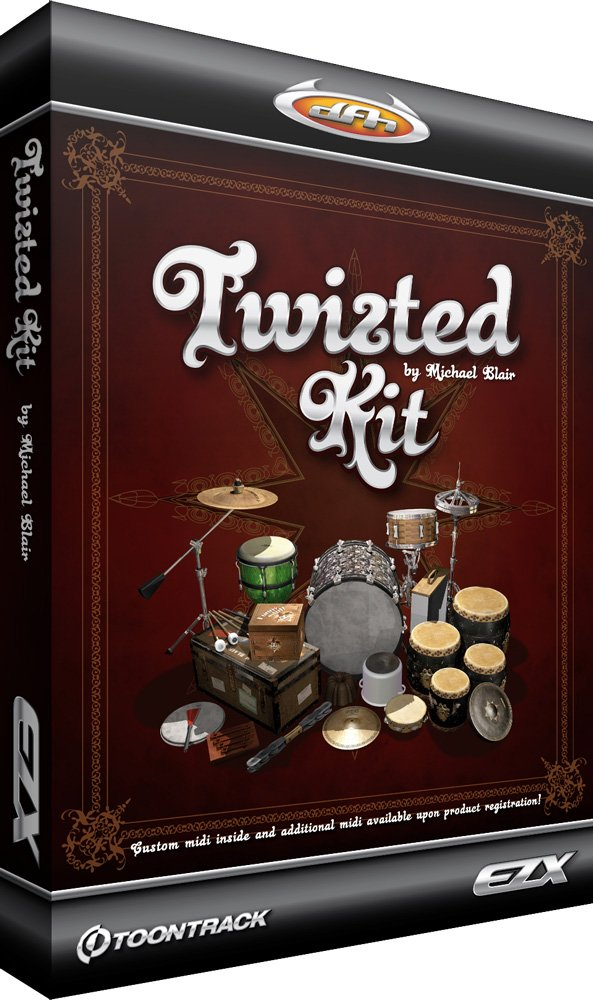 Twisted Kit Expansion for EZdrummer/Superior Drummer
