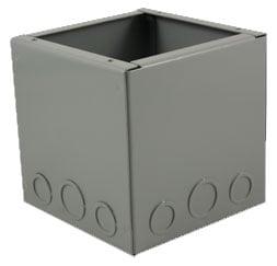Mystery Electronics BB1000 FMCA1000 Series Floor-Mount Back Box BB1000-MYSTERY