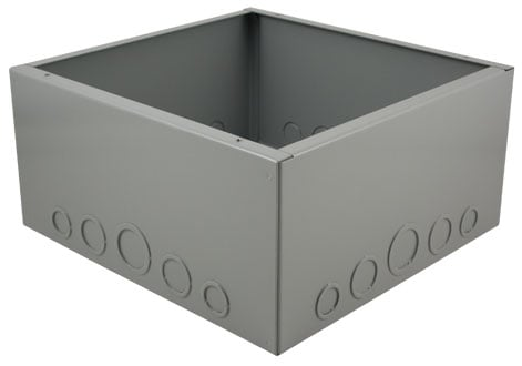 "FMCA3000 Series Floor-Mount Back Box (6"" Extra Depth)"